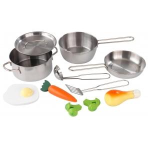 Детский набор игрушечной посуды - 11 элементов