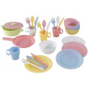 Детский набор игрушечной посуды - Pastel