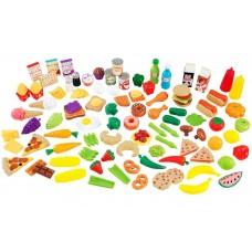 Игровой набор еды - вкусное удовольствие 115 элементов