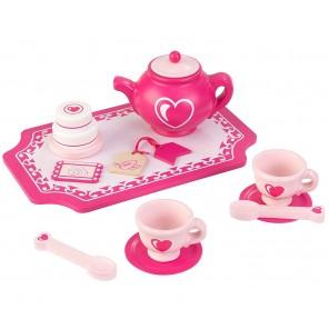 Детский игрушечный набор посуды -  Праздничное чаепитие Pastel