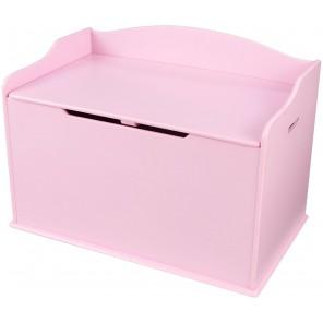 Ящик для игрушек «Остин» розовый