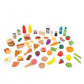 Детский набор еды - вкусное удовольствие 65 элементов
