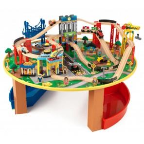 """Игровой набор Kidkraft """"Железная дорога со столиком"""""""